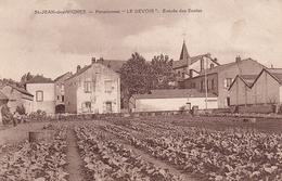 St Jean Des Vignes Pensionnat Le Devoir Entrée Des écoles - Other Municipalities