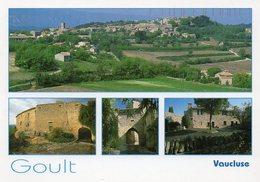 CPM - J - VAUCLUSE - GOULT - MULTIVUES - - France