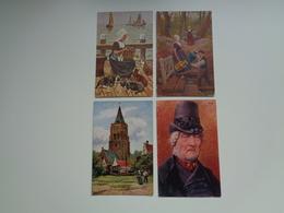 Beau Lot De 10 Cartes Postales De Fantaisie Illustrateur  Gerstenhauer    Mooi Lot Van 10 Postkaarten Van Fantasie - Postkaarten