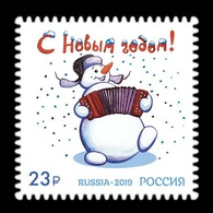 Russia 2019 Mih. 2799 New Year MNH ** - 1992-.... Federación