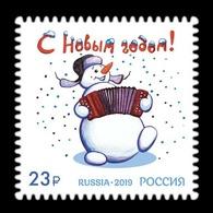 Russia 2019 Mih. 2799 New Year MNH ** - 1992-.... Fédération