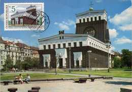 Czech Republic - Maximum Card - 1993 Beautiful Homeland - Lettres & Documents