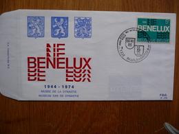 (2) België FDC 1974 Benelux Museum Van De Dynastie Nr: P424 - FDC