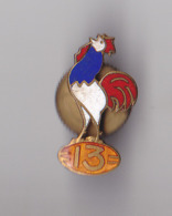 PIN'S AVEC VIS  RUGBY  COQ FRANCAIS  FEDERATION RUGBY A XIII  PINS A VIS TRES RARE SIGNE FRAISSE - Rugby