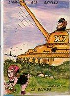 Illustrateur LASSALVY - L'AMOUR AUX ARMEES - CP N° MIL 3 - Lassalvy
