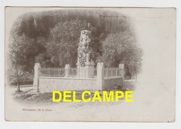 DD / 25 DOUBS / PONTARLIER / MONUMENT DE LA CLUSE - Pontarlier