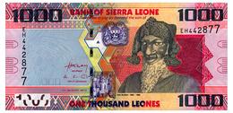 SIERRA LEONE 1000 LEONES 2013 Pick 30b Unc - Sierra Leone