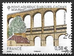 FRANCE  2010 -  Y&T   4503 - Aqueduc D'Arcueil-Cachan  -  Oblitéré - 2010-.. Matasellados