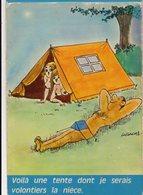 Illustrateur LASSALVY - Voila Une Tente Dont Je Serai Volontiers La Nièce - CP N° A 4 - Lassalvy
