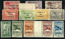 Andorra Española NE-25/36 En Nuevo - Unused Stamps