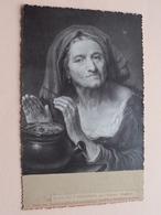 ALTE Frau ( N° 123 >Dresdner Galerie / Photo Römmler & Jonas ) Vente Chez P. Heynsmans St. JOSSE > Bijgesneden ! - Beroemde Personen