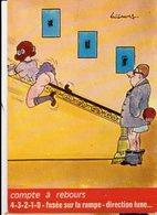 Illustrateur LASSALVY - Compte à Rebours... Fusée Sur La Rampe .. - CP N° C 2 - Lassalvy