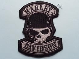 Embleem HARLEY DAVIDSON > Global Products Inc. ( Form. +/- 11 X 8 Cm. ) See / Voir Photo EMBLEM ! - Motorräder
