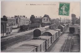 BOHAIN - Intérieur De La Gare - Autres Communes