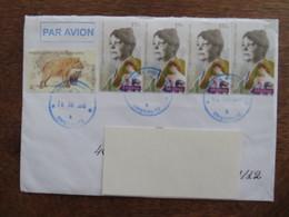 Moldova, Circulated Letter, Animals, 2018, 2016, Postal Stamp Chisinau - Moldavia