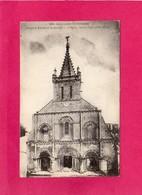 17 Charente Maritime, PONT-l'ABBE-d'ARNOULT, L'Eglise, Façade Ouest, (Braun) - Pont-l'Abbé-d'Arnoult