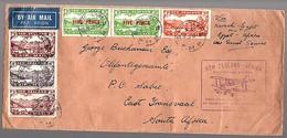 1932 Scarce Flight Auckland > Karachi-Egypt-Africa Olifantsgeraamte (= Elephant Skeleton) (488) - 1907-1947 Dominion