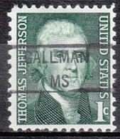 USA Precancel Vorausentwertung Preo, Locals Mississippi, Gallman 841 - Vereinigte Staaten