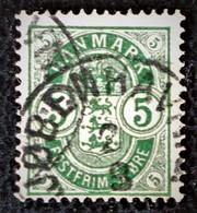 EMISSION 1882 - OBLITERE - YT 35a - DENTELE 12 1/2 - 13 - Usati