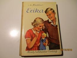 M. HALLER , ERIKA , OLD BOOK , 0 - Bücher, Zeitschriften, Comics