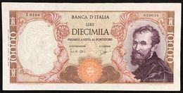 10000 Lire Michelangelo 27 07 1964 Raro  LOTTO 3020 - [ 2] 1946-… : Repubblica