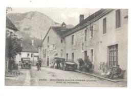 MOUTHIER HAUTE-PIERRE DOUBS HOTEL DES VOYAGEURS PUBLICITE - Francia