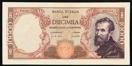 10000 LIRE MICHELANGELO 08 06 1970 NON TRATTATO  Sup/fds  LOTTO 3021 - 10000 Lire
