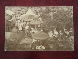 Adinkerke - La Panne    Moeder-Lambic   Le Jardin Et Jeux Automatiques       ( 2 Scans ) - De Panne