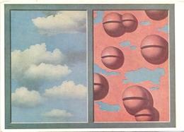 PK - Schilderij - Peinture - Painting - Rene Magritte - Grelots Roses , Ciel En Lambeaux - Malerei & Gemälde