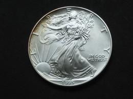 Magnifique  1 One Dollar 1995 - Silver Eagle- Etats-Unis - United States - USA     *** EN ACHAI IMMEDIAT **** - Émissions Fédérales