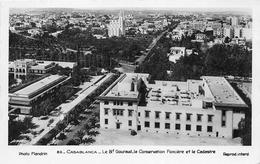 ¤¤    -   MAROC  -  CASABLANCA   -  Le Boulevard Gouraud, La Conservation Foncière Et Le Cadastre    -  ¤¤ - Casablanca