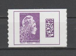 FRANCE / 2019 / Y&T N° AA 1656 (F) ** : Marianne D'YZ (de Feuille Adhésive) TVP International X 1 - Frankreich