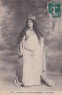 CARNAVAL A CHALON SUR SAONE  1913.     LA REINE       COIFFURES ET COSTUMES MELLE PAPILLOT - Chalon Sur Saone