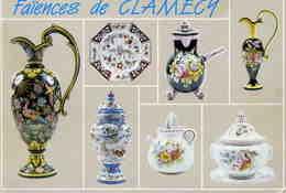 METIERS  /   ARTISANAT       L 37 /   /  FAIENCES DE CLAMECH  CPM / CPSM 10 X 15 - Craft