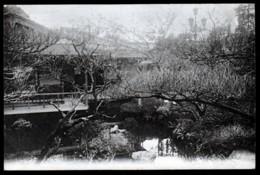 2 CPA ANCIENNES JAPON- KYOTO- JARDIN JAPONNAIS EN HIVER- 2 SCANS - Kyoto