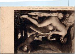 Nu Femme Tableau Leda De POussin Musée Condé à Chantilly - Tableaux