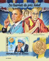 Guinea. 2019 Nobel Prize Winners.  (0405b) OFFICIAL ISSUE - Mutter Teresa