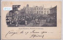 LIEGE- PLACE COCKERILL- MARCHE AUX LEGUMES - Liege