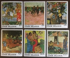 Cook Islands 1967 Gauguin Paintings MNH - Islas Cook