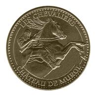 Monnaie De Paris , 2013 , Murol , Château , Le Chevalier à Cheval - Monnaie De Paris