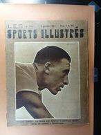 Les Sports Illustrés 1935 N°716 Deneef Anvers Courbet Scherens Football Lutte Dictus Union - Sport
