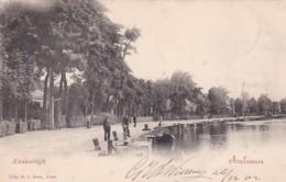 357530Aalsmeer, Kanaaldijk (poststempel 1902) - Aalsmeer