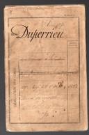 Bordeaux (33 Gironde)   Livret Militaire CLASSE 1870 (PPP21204) - Documents