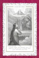 IMAGE PIEUSE/ CANIVET / DENTELLE..édit Bonamy N 154...Je Suis Ton Avocat - Images Religieuses