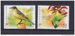 Singapore 2007 Birds Definitives 45c-2007C, 55c-2007D Imprints 2v MNH - Singapore (1959-...)