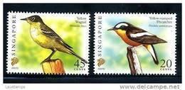 "Singapore 2007 Birds Definitives 20c & 45c With Imprint ""2007D"" 2v MNH - Singapore (1959-...)"