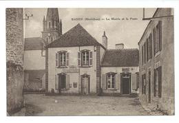 BADEN - La Mairie Et La Poste - - Autres Communes