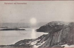 1909 Midnatssol Ved Hammerfest Noorwegen Norway Norge Norvege AK CPA Postcard Brevkort Scandinavia Skandinavien - Norvegia