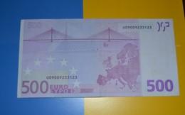 500 EURO FRANCE  T001F2 - DUISENBERG - U09009233123 - CIRCULATED - 500 Euro