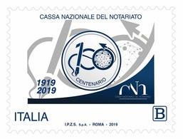 Italia Repubblica 2019 Cassa Nazionale Del Notariato Euro 1,10 MNH** Integro - 6. 1946-.. República